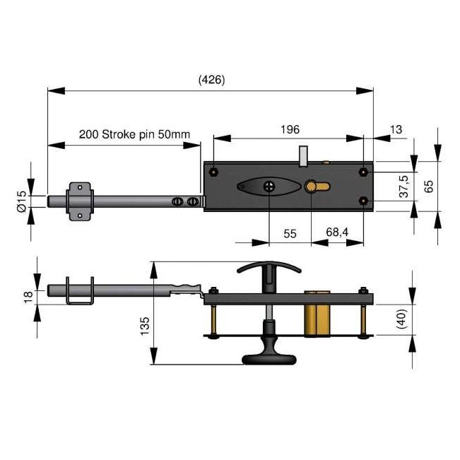 Serrure-noire-3cles-dimensions-25074