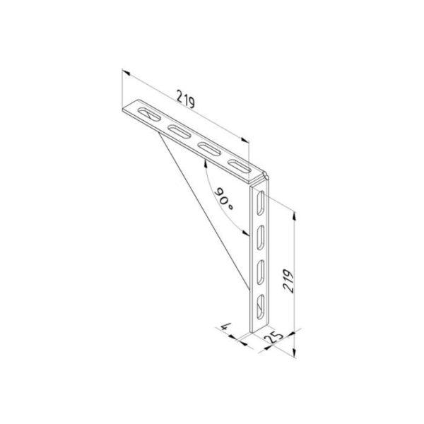 Support-de-montage-triangulaire-200-mm-dimensions-25190