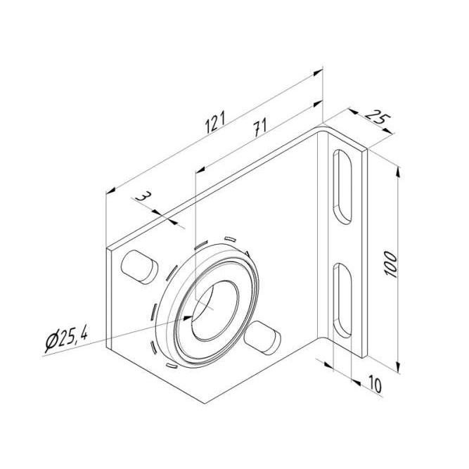 palier-residentiel-de-71-mm-avec-roulement-dimensions-13020